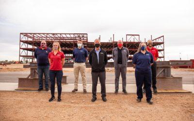 UA-ARC Team signs final beam for new location